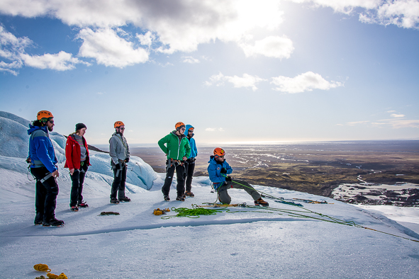 Professional training - Glacier training guides Iceland