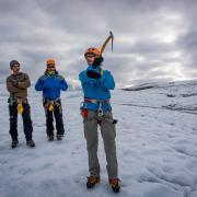 Ice climbing day tours Iceland