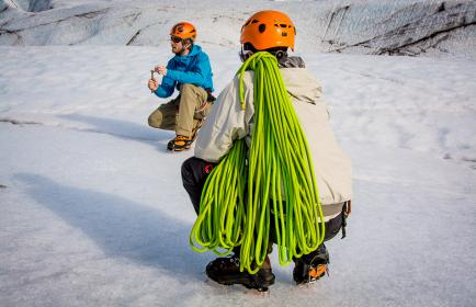 Ice climbing clinic day tour