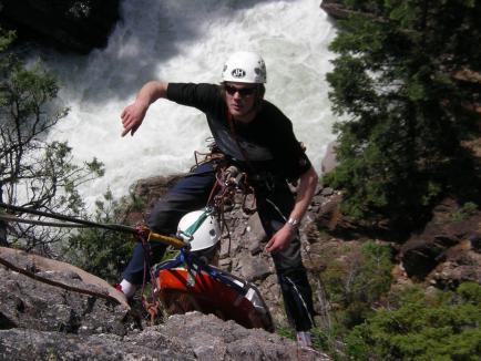 Rope rescue program Iceland RRT