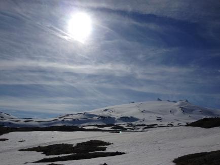 Alpine trekking snæfellsjokull