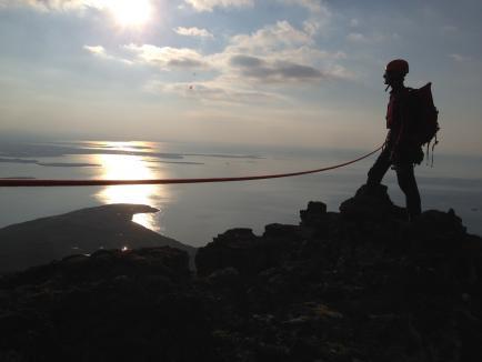 Alpine Rock Climbing Reykjavik Iceland
