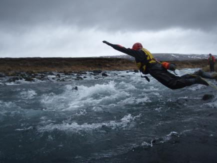 Swiftwater and flood Rescue program Iceland