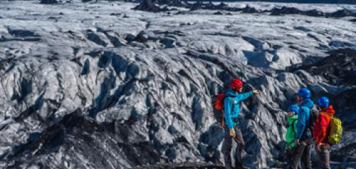 Glacer hike on Sólheimajökull Iceland - Meet on location one hour tour