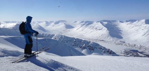 Ski touring Reykjavik Day trip
