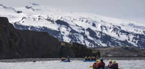 Heli River Rafting Iceland