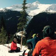 CAA level 2 avalanche training