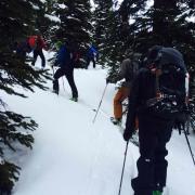 Asgard ski touring Canada