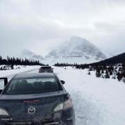 Icefields parkway parkinglot