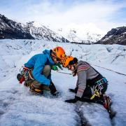 Ice climbing with Asgard Beyond