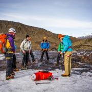Hard Ice guide training Iceland