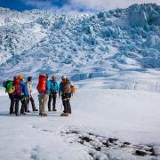 Briefing on Falljökull glacier