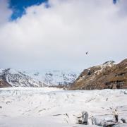 Glacier travel Iceland