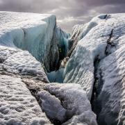 Glacier blue Ice - Private hiking