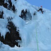 Water Ice climbing Iceland
