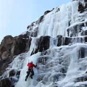 Water Ice climbing