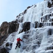 Hvalfjord Ice climbing