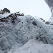 Private Ice climbing day tour