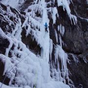 Waterfall Ice climbing