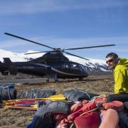 Heli rafting Iceland
