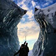 Ice Climbing South Iceland