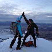 Alpine ascent Iceland