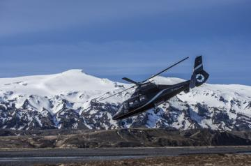 Private Helicopter glacier hiking