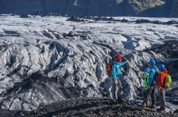 Glacier walk in Iceland