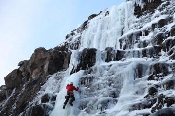 Waterfall Ice Climbing Iceland