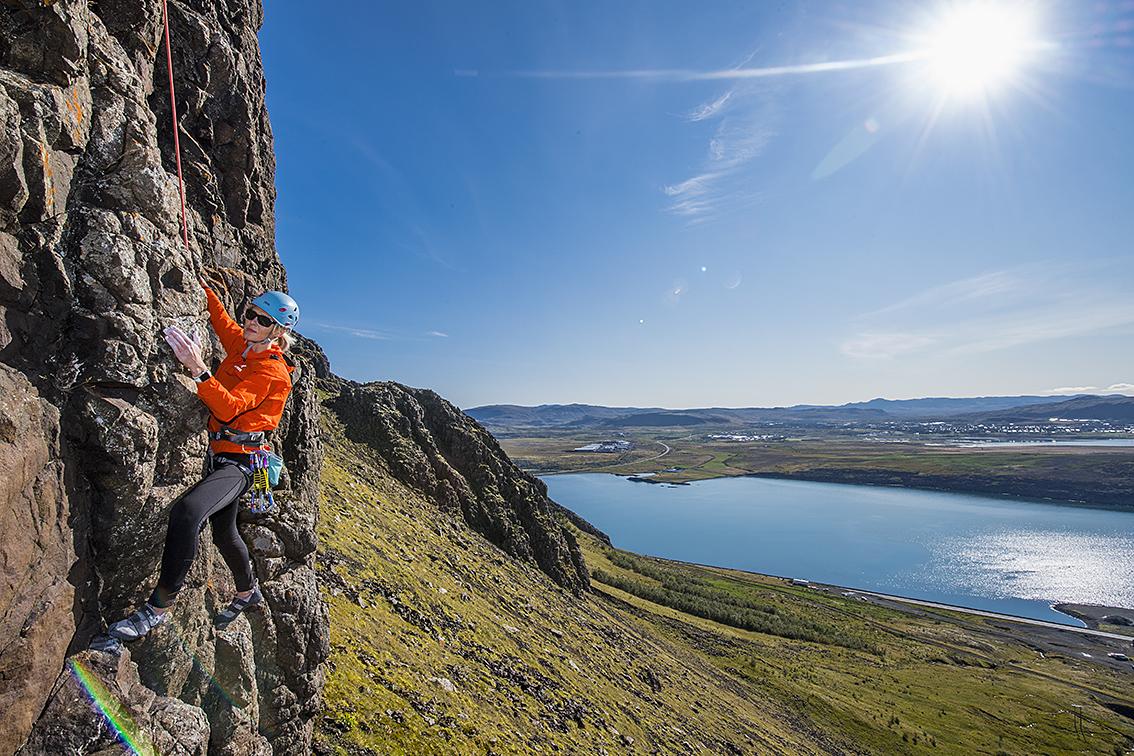 rock climbing day tour reykjavik iceland